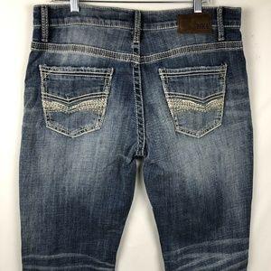BKE Buckle Men's Jake Jeans Size 36XL Bootleg NEW